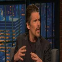 VIDEO: Ethan Hawke Talks Directing New Film 'Seymour' on LATE NIGHT