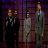 VIDEO: Courteney Cox, Oscar Isaac & Joel McHale Play Celebrity Cell Phone Profile on CORDEN