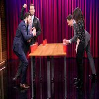 VIDEO: Chris Evans Competes in 'Team Flip Cup' on TONIGHT SHOW
