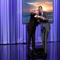 VIDEO: James Marsen Posts His First Instagram Pic on TONIGHT SHOW