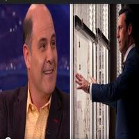 VIDEO: Matthew Weiner Shows 'Clip' from MAD MEN Finale on CONAN