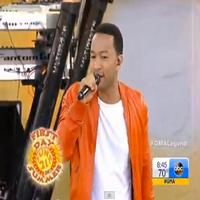 VIDEO: John Legend Performs on GMA's Summer Concert Series