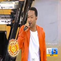VIDEO: John Legend Performs on GMA's Summer Concert Series