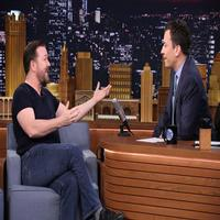 VIDEO: Ricky Gervais Talks End of 'Derek' on TONIGHT SHOW