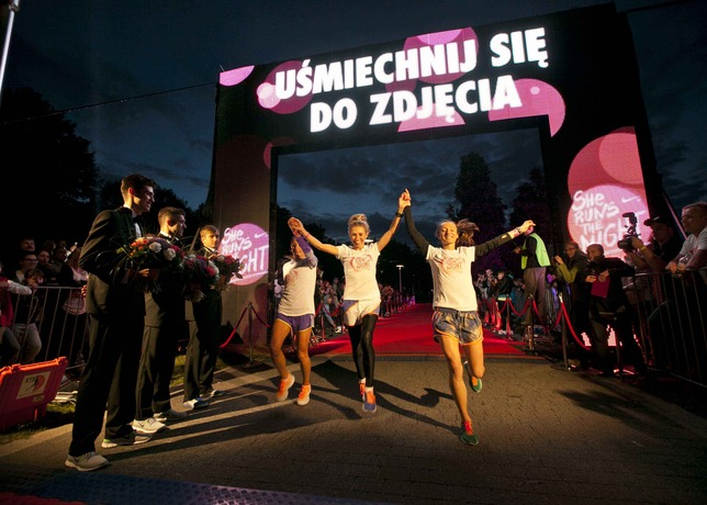 Nike She Runs the Night Biggest Women 5K in Poland