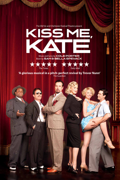 Bww Reviews Kiss Me Kate Old Vic December 19th 2012