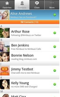 Nimbuzz for BlackBerry 10 Launches, Combining GTalk, Yahoo and Facebook into Single App