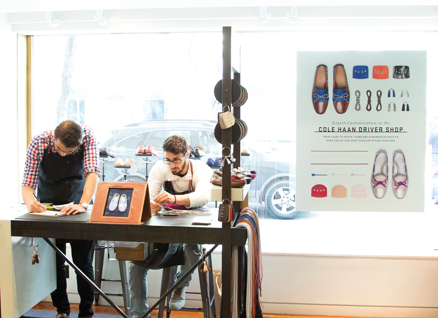 Cole Haan Opens The Driver Shop For Customizable Driver Moccasins