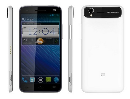 ZTE Announces World Debut of the Thinnest 5.0 FHD Quad-core Smartphone Grand S at CES 2013