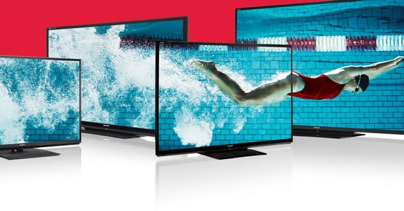 Sharp Hits #1 Spot for Large Screen TV (60'+) Sales In 2012