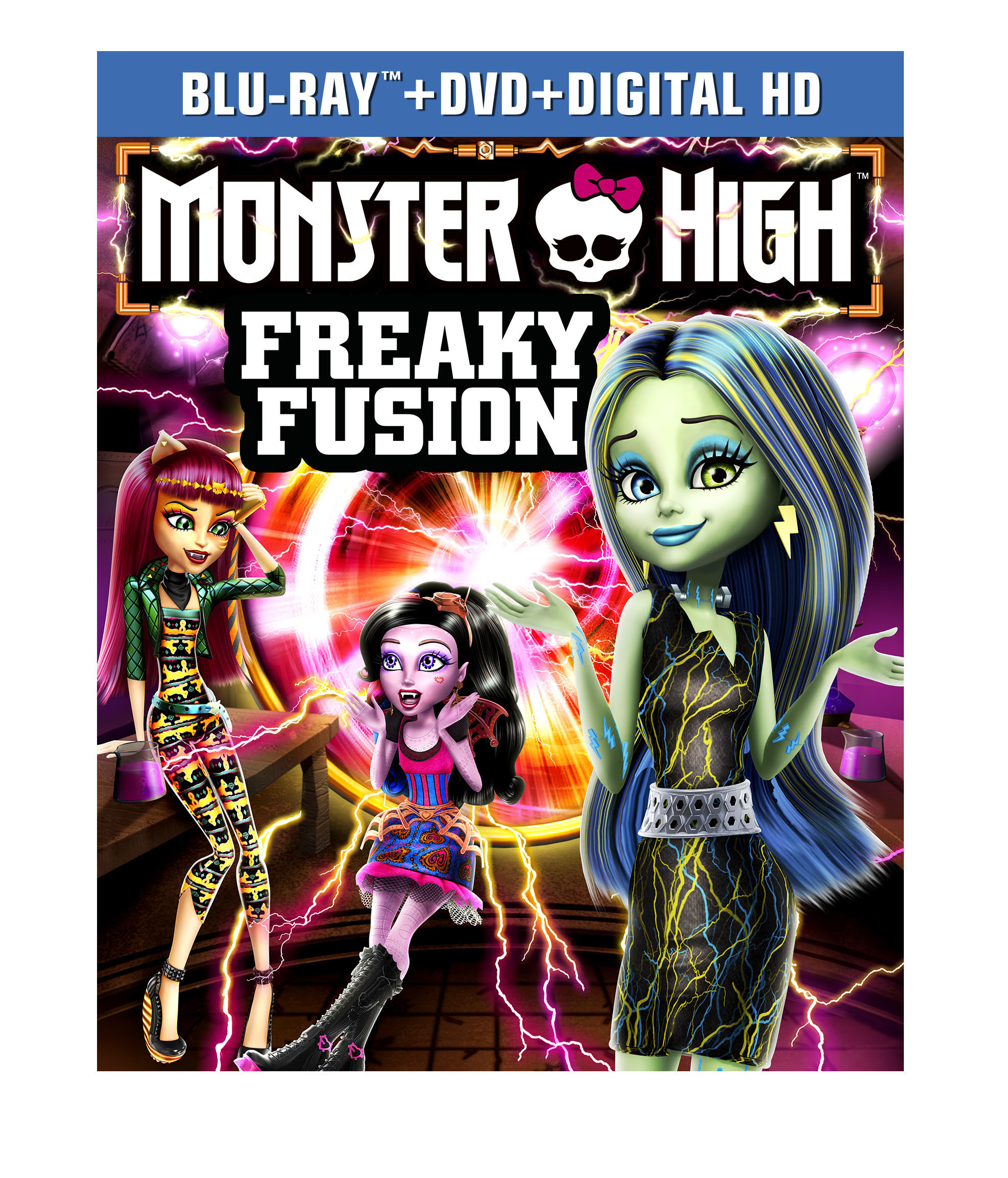 MONSTER HIGH: FREAKY FUSION Coming to DVD, Blue-Ray & Digital HD This September