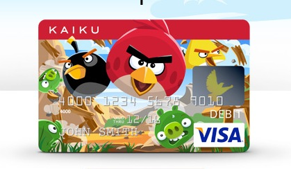 Looking for an Angry Birds Credit Card? KAIKU VISA Prepaid Has You Covered!
