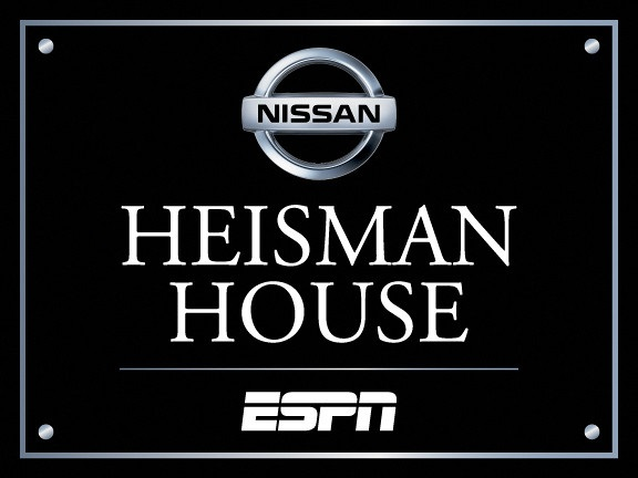 Nissan Heisman House Returns to ESPN's College Football Season