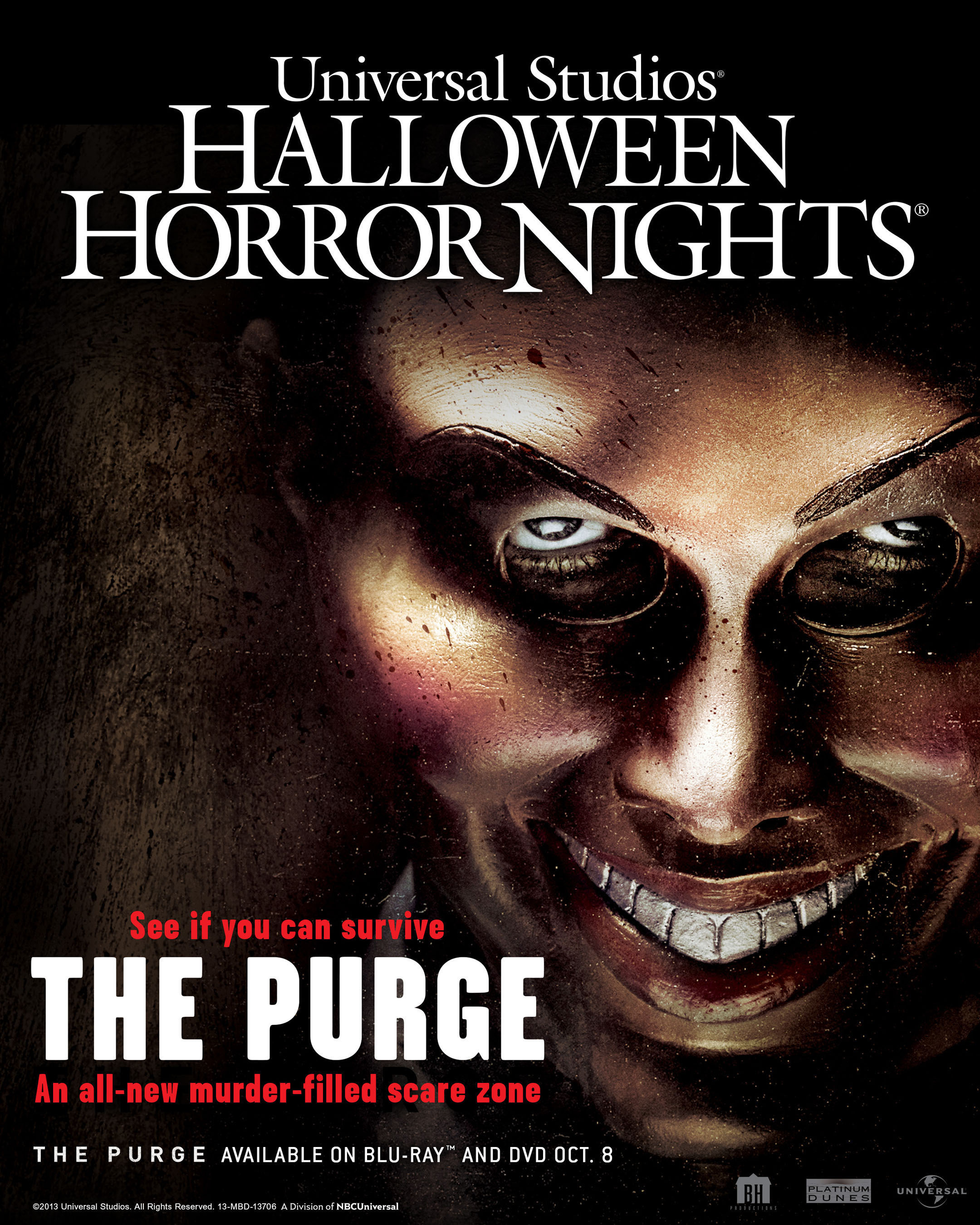Universal Studios Announces Two New Halloween Scare-Zones; THE PURGE & CURSE OF CHUCKY