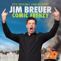 EPIX to Present JIM BREUER: COMIC FRENZY, 5/29