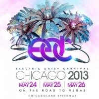 First Tier of Performers Announced for Electric Daisy Carnival in Chicago