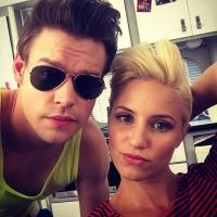 Chord Overstreet & Dianna Agron Evoke 1980s For GLEE Final Season