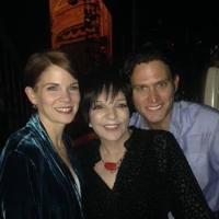 Liza Minnelli Visits 'BRIDGES' Stars Kelli O'Hara & Steven Pasquale