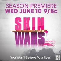 GSN Premieres Season 2 of SKIN WARS Tonight