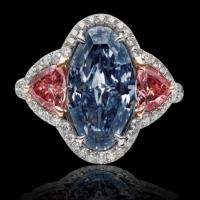 Rare Blue Diamond Unveiled by One and Only One