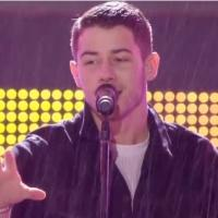 VIDEO: Nick Jonas Soaks Up the Downpour at MTV EMA 'Jealous' Performance!