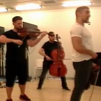 Stage Tube: Well-Strung Rehearses FROZEN Mash-Up for BROADWAY & BEYOND