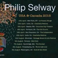 Philip Selway Expands North American Tour