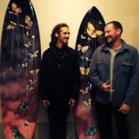 Surfer Rob Machado and Artist Sage Vaughn Present CONVERGENCE at Flood Magazine Gallery, 1/29