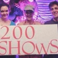 Photo Flash: Saturday Intermission Pics, September 6- 50 SHADES! Celebrates 200 Performances, and More