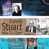 This Week at Bookworks Includes Douglas Preston, David Stuart and More