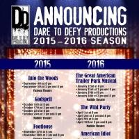 Dare to Defy Productions Sets 2015-16 Season: INTO THE WOODS, AMERICAN IDIOT, GODSPELL & More
