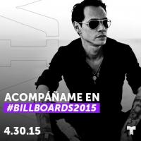 Marc Antony Among All-Star Line-Up for 2015 BILLBOARD LATIN MUSIC AWARDS Tonight