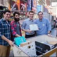 Photo Flash: Stars of WICKED, KINKY BOOTS, IT'S ONLY A PLAY and More Team with BGA for E-Waste Event in Times Square