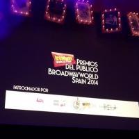 Ganadores de la 4� edici�n de los Premios del P�blico BroadwayWorld Spain