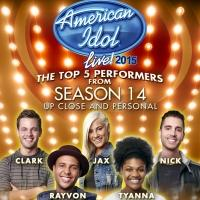Top Five Announced for AMERICAN IDOL LIVE!, Coming to Van Wezel