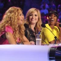 Photo Flash: First Look - Kelly Rowland & Paulina Rubio on THE X FACTOR!