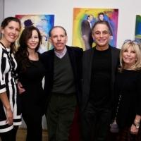 Photo Flash: Nancy Sinatra, Tona Danza and More Attend Peter Max's Frank Sinatra Portrait Exhibition