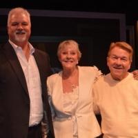 Photo Flash: Heller Halliday & Preston Hagman Visit York Theatre Company's INVENTING MARY MARTIN