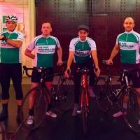 PHANTOM OF THE OPERA UK Cast Bikes from London to Paris for Charity Today