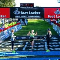 Anna Rohrer and Grant Fisher Win First Place at the Foot Locker Cross Country Championships National Finals