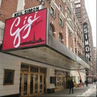 Photo Flash: First Look at GIGI's Broadway Marquee