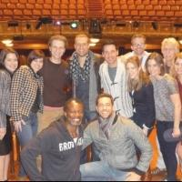 Exclusive Photo Flash: Cast of FIRST DATE Visits A TIME TO KILL on Broadway!