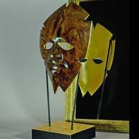 Artist Creates African Mask From Tony Award Winner Garth Fagan