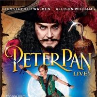 Deluxe PETER PAN LIVE! DVD & CD Giftset Now Available