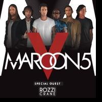Maroon 5 Set New Year's Shows at Mandalay Bay