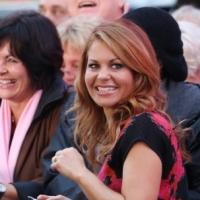 Photo Coverage: Candace Cameron Bure Visits Set of GMA