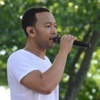 Photo Flash: John Legend Performs on GMA's Summer Concert Series