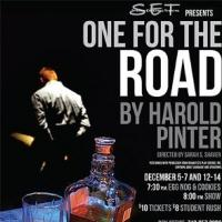 BWW Reviews: ONE FOR THE ROAD - SET Has a Very Pinter Christmas