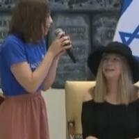 STAGE TUBE: Barbra Streisand Meets with Make-A-Wish Children in Israel