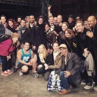 Fab Photo! KINKY BOOTS Welcomes Cuban Cast Of RENT Backstage